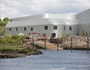 The slipway at Riverside Museum nears completion