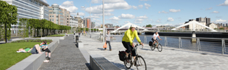 Phase 1 public realm works at Broomielaw