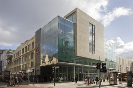 The newly refurbished St Enoch Centre