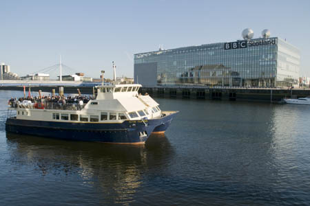 The Clyde Clipper takes passengers on a river tour