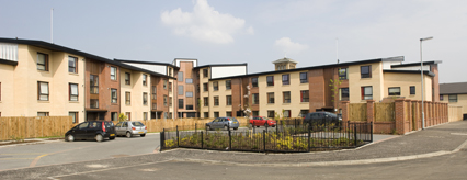 The new Parkcourt homes