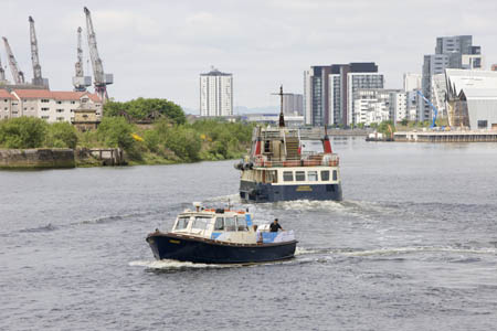 River trips from Glasgow to Renfrew Riverside