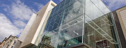 Detail of St Enoch Centre