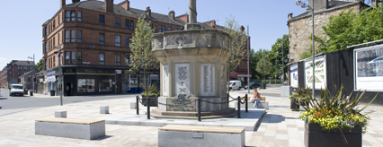 Renfrew Town Centre improved public realm