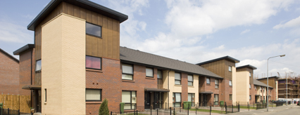 New housing at Harhill Street