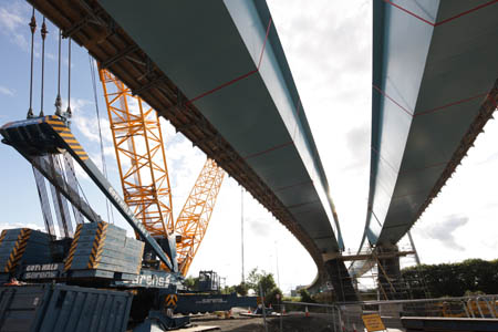 West Street flyover takes shape