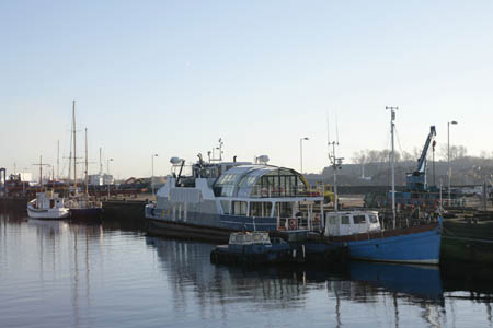 Boats in Rothesay Dock