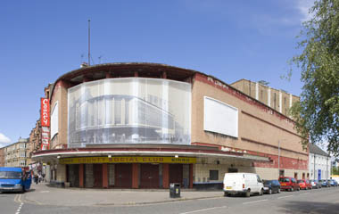 The Lyceum, one of the last surviving 1930's super cinemas in the UK