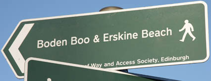 Signage for Boden Boo