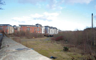 Kelvin Valley Park area before works commence