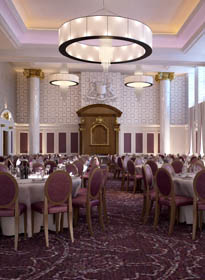Image of the dining room, supplied by Grand Central