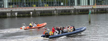 Seaforce take passengers on the Clyde