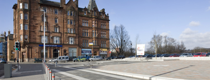 Public realm improvements at Govan Cross complete