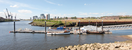 The slipway at Riverside Museum