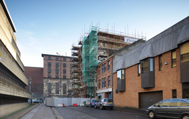 Work continues at Glasgow City Mission