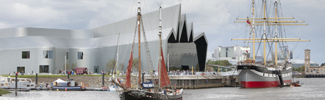 The Riverside Museum at Glasgow Harbour