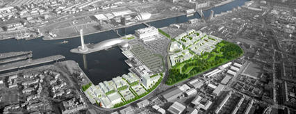 The Creative Clyde masterplan for Festival Park