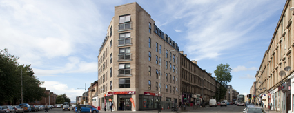 The new student residences at Argyle and Kelvinhaugh Street are now complete