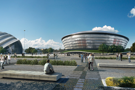 Scottish Hydro Arena by Foster and Partners