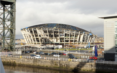 The new arena will play an integral role in the Commonwealth Games in 2014