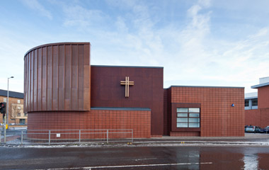 New Gorbals Church is complete