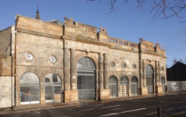 The rear of the Briggait