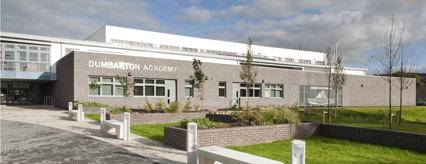 The new Dumbarton Academy building