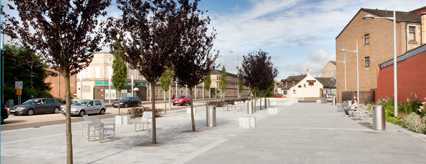 Clydebank town centre public realm works are complete