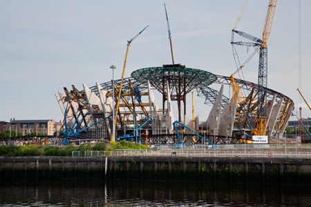 The SSE Hydro 'skeleton'