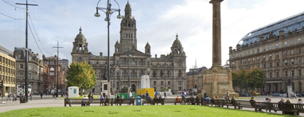 The new look for George Square