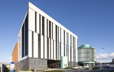 The new labs at South Glasgow Hospital campus
