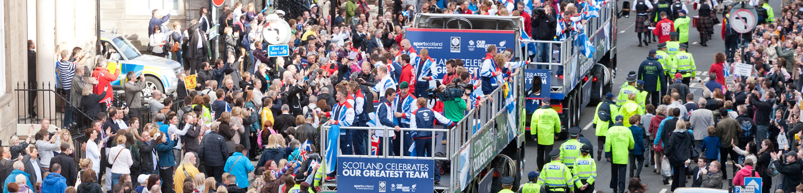 12 reasons to celebrate, the Scottish athletes return home from the Olympics