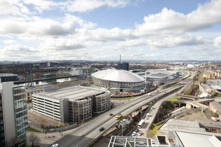High level view of The SSE Hydro build