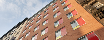 Work complete on the building that is the city centre student accommodation