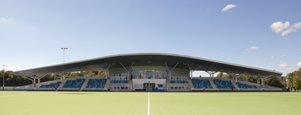Glasgow National Hockey Centre opened in July 2013