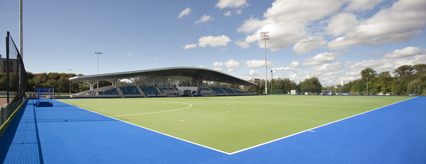 The National Hockey Centre is complete