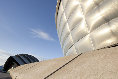 The SSE Hydro and Clyde Auditorium are part of the SECC complex