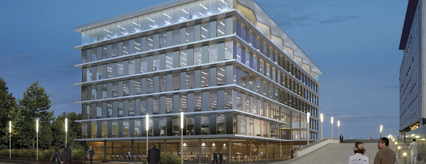 Artist impressions of the new Azure building