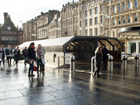 St Enoch subway in St Enoch Square, Glasgow city centre