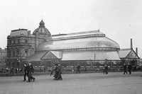 The People's Palace and Winter Gardens in 1910, image courtesy of Glasgow City Council