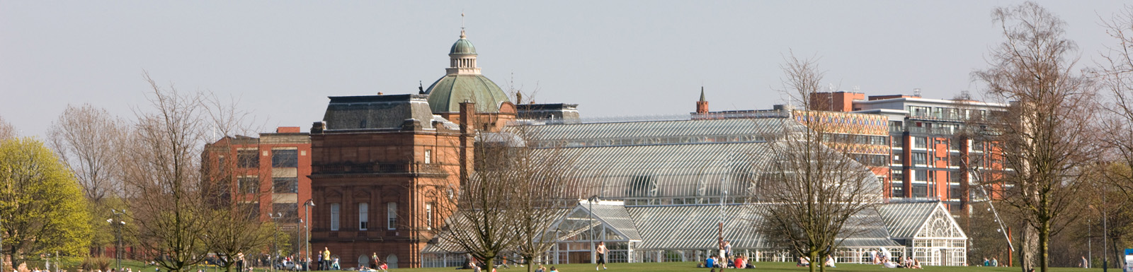 The People's Palace and Winter Gardens at Glasgow Green
