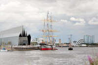 Queen's Dock and Yorkhill Quay today
