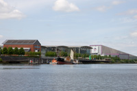 View of Braehead from the River Clyde