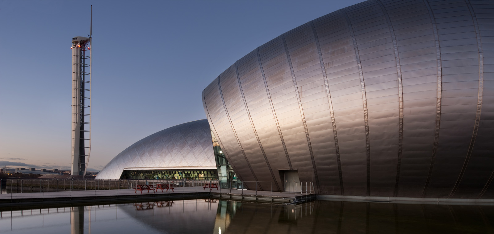 Glasgow Science Centre at Pacific Quay