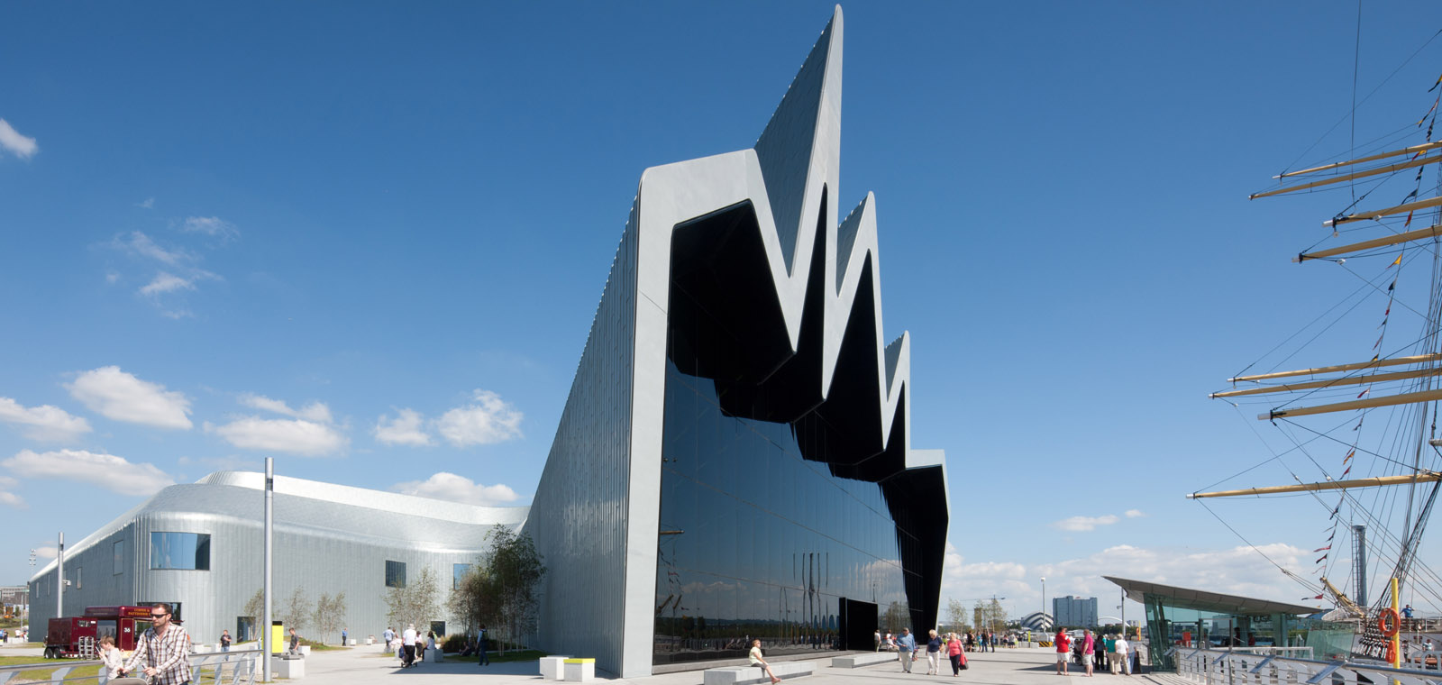 Riverside Museum at Glasgow Harbour